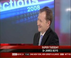 Dr. James D. Boys on BBC News
